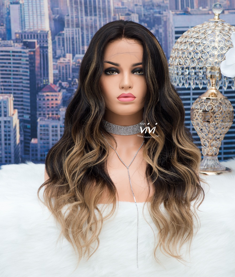 Quot Zaria Quot Blonde Curly Wig Online Human Hair Wigs From