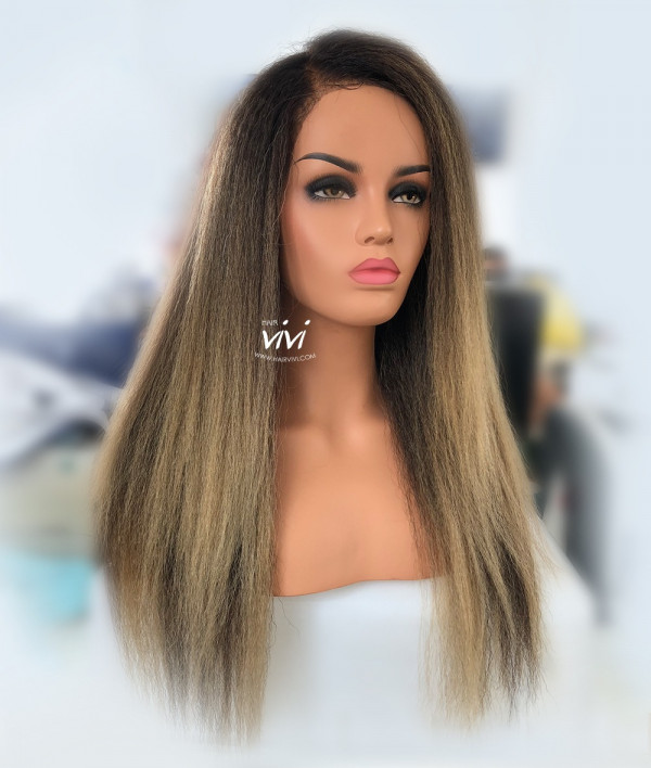 Quot Chiara Quot Ombre Blonde 360 Lace Wig Straight Online Human